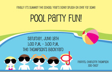 Pool Friends Invitation