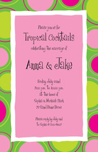 Think Of Springs Green Invitations