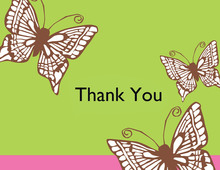 Winged Thank You Cards