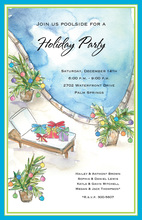 Merry Poolside Invitation