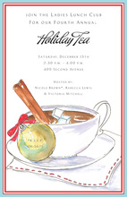 Merry Tea Invitations