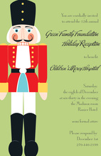 Holiday Party Nutcracker Invitations