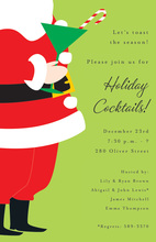 Tipsy Santa Invitations