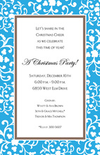 Formal Classic Royal Border Invitation