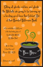 Boo Brew Invitation