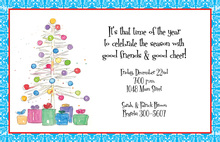 Whimsical Fun Tree Invitation