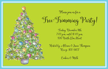 Deco Tree Invitation
