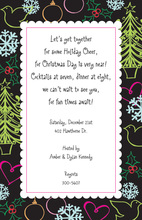 Modern Holiday Hijinks Invitation