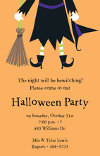 Witch Jump Invitation