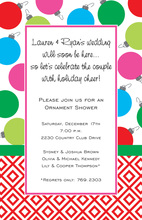 Colorful Ornament Mix Invitations