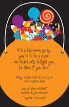 Halloween Loot Invitations