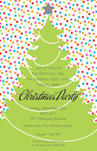 Crazy Tree Holiday Invitations
