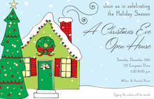Cozy Winter Home Invitations