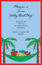 Holiday Hammock Invitations