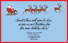 Sleigh Ride Invitation