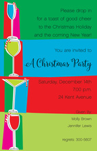 Yule Drinks Invitation