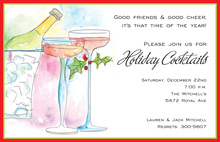 Cheerful Sips Invitation