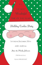 Casual Santa Season Christmas Invitations
