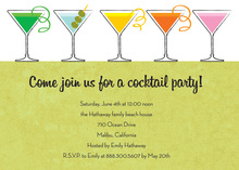 Special Srping Martinis Invitation