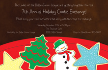 Sweetest Cookies Holiday Invitations