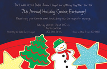 Delicious Cookies Holiday Invitations