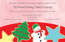 Specialty Cookies Holiday Invitations