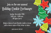 Assorted Cookies Holiday Invitations