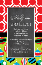 Mixed Ornamental Chalkboard Invitations