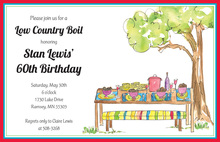 Low Country Boil Invitations