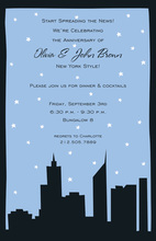 Spectacular Silhouette City Invitation