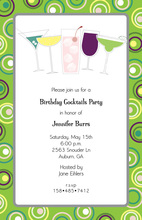 Cocktail Party Tip A Few Shower Invitations