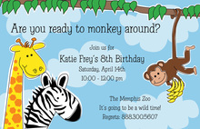 Looks Like Zoo Invitations