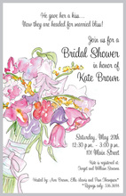 Beautiful Watercolor Bouquet Wash Invitations