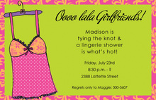 Lingerie Madness Invitation