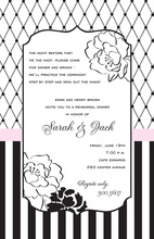 Romantic Coco Mix Flora Style Invitation