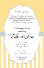 Unique Regency Frame Invitations
