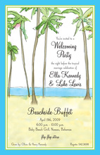 Inspired Beautiful Beach View Invitations