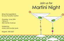Olive Martinis Invitations