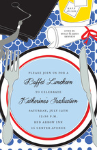 Graduation Placesetting Luncheon Invitations