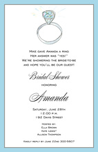 Engagement Bling Invitation