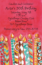 Lite My Fire Invitations