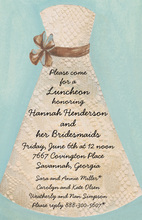 Classic Lace Bride Invitations