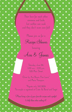 Love to Cook Kitchen Invitations