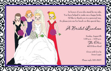 Casual City Bride Invitations