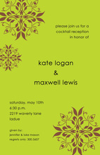 Luxe Lime Invitation
