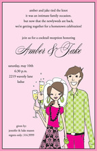 Bridal Couple Invitations