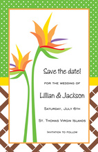 Summer Tropical of Paradise Invitations