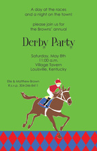 Derby Horse Racing Invitations