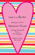 Big Valentine Heart Invitation