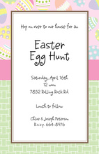 Egg Basket Invitation